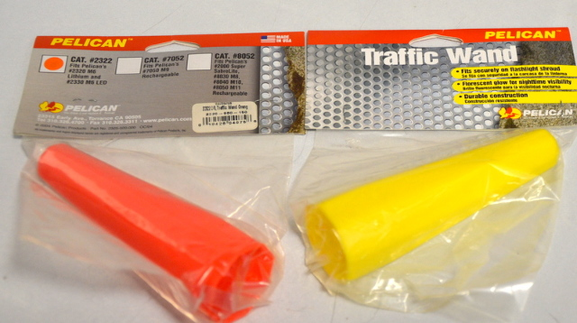 Pelican Traffic Wand #2322 fits #2320 M6 Lithium and 2320 M6 LED Flashlight -2 pc