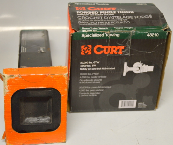 Curt Forged Pintle Hook #48210 and XD Extra Duty Bar #48340 , 20,000 lbs