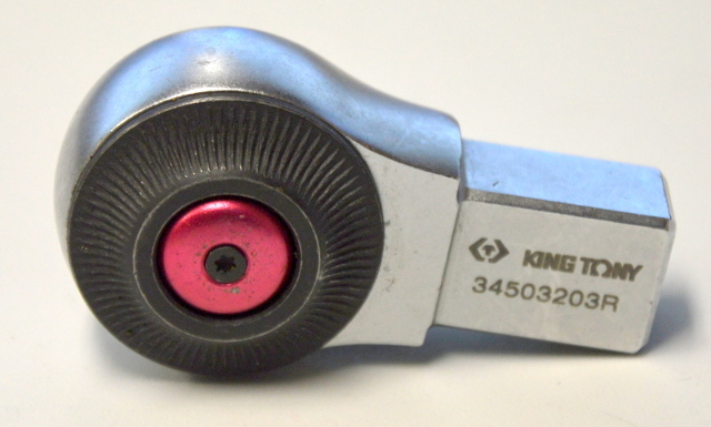 "King Tony #34503203R Ratchet Insert tool 3/8"""