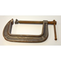 Vintage Brink & Cotton No.145 - 5 Inch C-Clamp made in the USA.