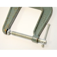 "Vintage Craftsman Pearlitic 4"" Deep Throat C-Clamp #66682"