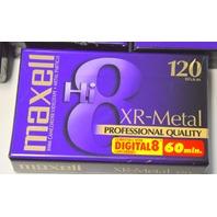 7 - Maxell Hi8 XR-Metal 120 Professional Quality Digital 8 - 60 Min P6-120XR