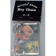 "70 pcs. 2"" x 3"" Acrylic Photo Key Chain."