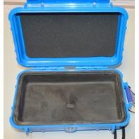 """Pelican Micro Case #1040-005-113 Blue - Interior size: 6 9/16""""L, 3 15/16""""W, 1 3/4"""" D"""