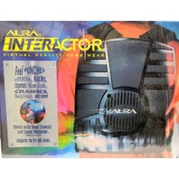NIB Aura Interactor Virtual Reality Game Wear 1994 Sega Genesis Super Nintendo