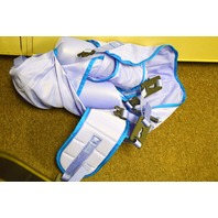 Arjo #MAA4031M - XL, 600# Capacity 4 Point Toilet Sling w/head support.