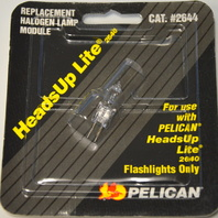 Pelican #2644 HeadsUp Replacement Lite for 2640 Flashlight only - 2 packs.
