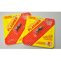 Pelican #2104 Blinking Flashing Lamps for PetTracker Flashlight. 2 packs of 2.