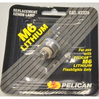 Pelican M6 Lithium Replacement Xenon Lamp #2324 for use w/ M6 Lithium Flashlight