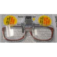 Carson Optics CF-10 Optical Magnifying Lenses Clip & Flip plus Pouch. 2 pcs.