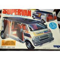 Vintage mpc Supervan 1/20 Scale Model Kit  #1-3061