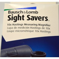 Bausch & Lomb Sight Savers 10X Hastings Measuring Magnifier #813433
