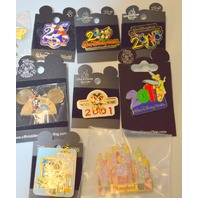 10-Disney Collectible Pins - All new, all different. #2501