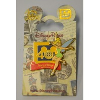Disney's TinkerBell Pin - Celebrating 40 years of magic. 400000972978