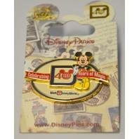 "Disney's Mickey Mouse ""Celebrating 40 Years of Magic"" Pin 400000972879"