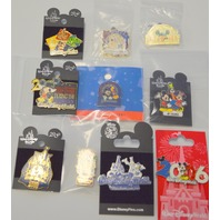 10-Disney Collectible Pins - All new, all different. #2503
