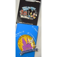 7- Disney Collectible Pins - all different - New #4040