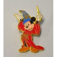 2 Mickey Mouse Sorcerer Pins - Both Different - New