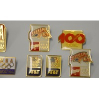 16 Sponsored Olympic Pins - Pre-Owned, these came out of as estate. #100