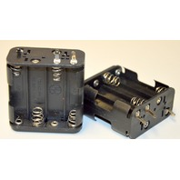 Double Sided 8 Slot AA Battery Holder - 2 pc. UM-3X8