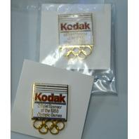 8 1998 Olympic Pins Sponsored by Kodak - all new. #22506