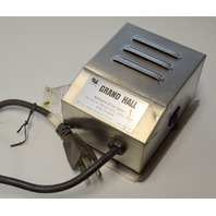 Grand Hall Rotisserie Drive Motor: Rating 120V, 60 Hz 3.5W - #P071010148 Working
