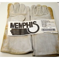 1 Pair of Memphis Reg. Grade Shoulder Welder Gloves #4152-New Old Stock