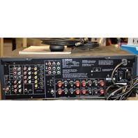 Yamaha HTR 5840 AV Receiver w/Owner's Manual and Remote Bundle