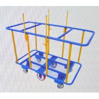 Steel Load Horizontal Panel Cart 2000# Load - NIB