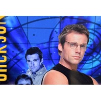Stargate Poster Dr. Daniel Jackson Michael Shanks Signed With Protective Cover
