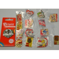 15 Piece Coca Cola Olympic Pins - All new.