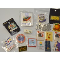 17 Pieces of US Cities Pins - #2012 - All new.