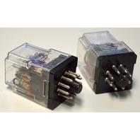 Potter & Brumfield KRPA-14DG-110 Relay 110VDC - 2 relays