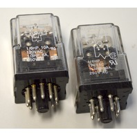 Potter & Brumfield KRPA-14DG-110 Relay 110VDC - 2 relays