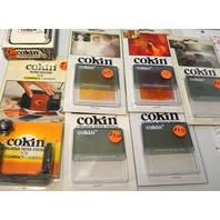 Cokin #70:5 Cromofilter 2 #185,1 #125,1 #673,1 #089, Filter Holder, Modular Hood