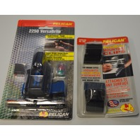Pelican 2250 VersaBrite Flashlight Kit and VersaBrite Mounting Clips #600.
