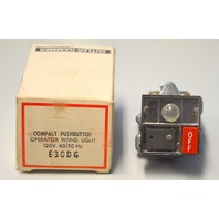 Cutler-Hammer E30DG Compact Pushbutton Operator w/ind.light 120V 60/50 Hz