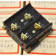 Cutler Hammer E30KLA4 Contact Block, A2 - Pack of 10 - NIB - New Old Stock