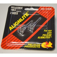 Pack Pelican Alignlite #1976, Replacement Tools. 2 sizes per pk, for Alignlite only