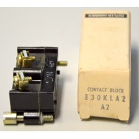 Cutler Hammer E30KLA2  Series A2 Contact Block - NIB - New Old Stock