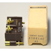 Cutler Hammer E30KLA1  Series A2 Contact Block - NIB - New Old Stock