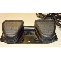 Motorola Linemaster Clipper Twin Dual Foot Switch SP-522-327