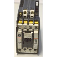 GE CR7ZC -10- 10HP, 460V, 3PH, AC-3Max FLA 17,5 600V.Magnetic Contactor