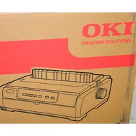 Oki Dot Matrix Printer Microline #620 Parallel (IEEE 1284), USB 2.0, Black and White