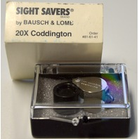 Bausch & Lomb # 60910 20X Coddington Magnifier Loupe