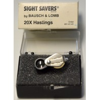 Bausch & Lomb #816181 20X Hastings Loupe magnifier