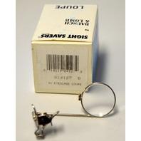 Bausch & Lomb #814127 B 4X Eyeglass Loupe - Clip On, Flip Up. Single Lens