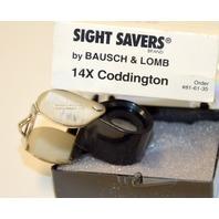 Bausch & Lomb #816135 14X Coddington Magnifier Jeweler Loupe
