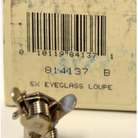 Bausch & Lomb #814137 B 5X Eyeglass Loupe