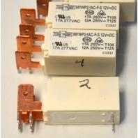 Song Chuen  881WP2-1AS 12V DC relay - 4 pcs.